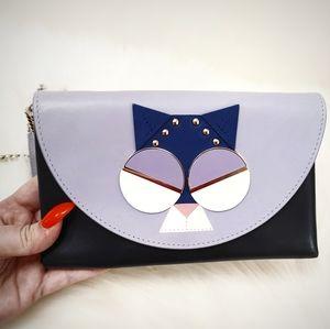 NEW Kate Spade Spademals Smitten Kitten Bag Wallet